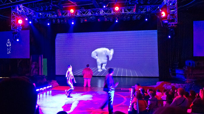 Special Effects Stage at Universal Studios Hollywood